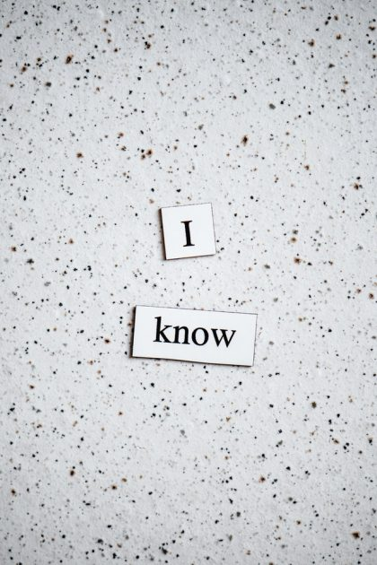 Knowing That We Know